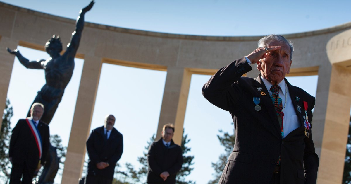 'Because of the Virus, Nobody Can Be Here.' Few Attend D-Day Remembrances, 76 Years After the Epic World War II Battle
