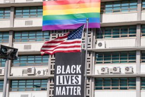 'Black Lives Matter' Banner Removed From U.S. Embassy in Seoul
