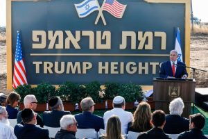 Israel Approves Plans to Build New Settlement in Occupied Golan Heights Named After President Trump