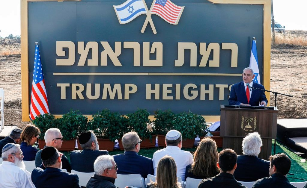 Israel Approves Plans to Construct New Settlement in Occupied Golan Heights Named After President Trump