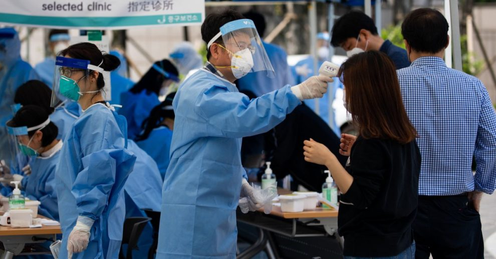 South Korea Sees Largest Spike in Cases in 3 Weeks as China Infections Continue to Drop