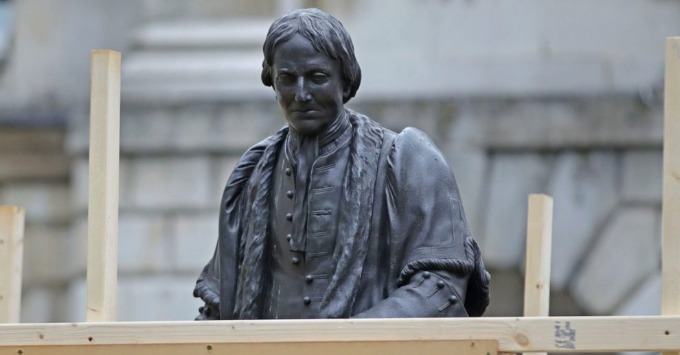 Statues Boarded Up in London Amid Escalating Anti-Racist Protests