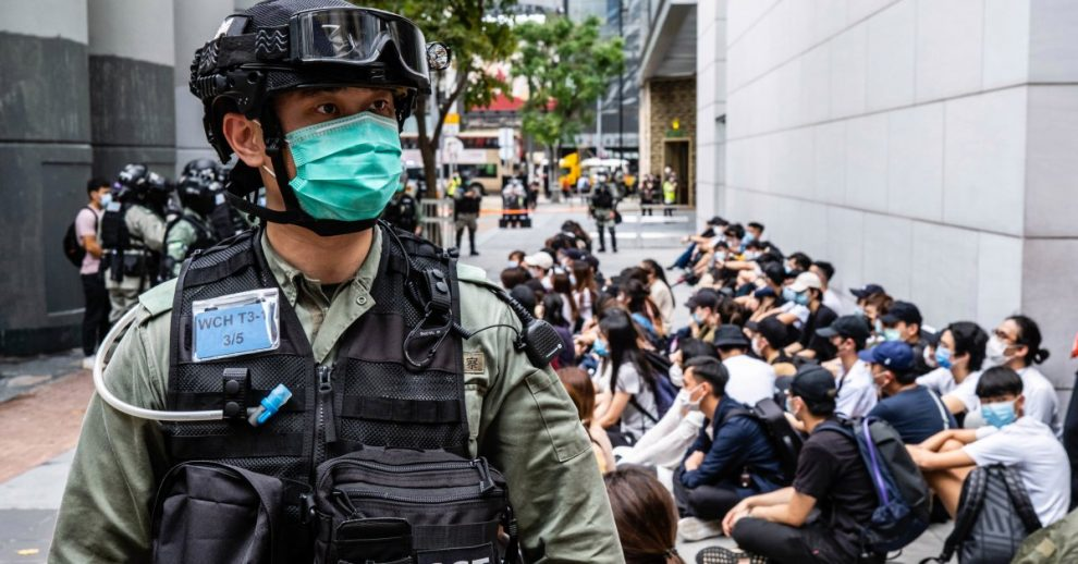 Trump Administration Freezes Funds Intended to Benefit Hong Kong Protesters