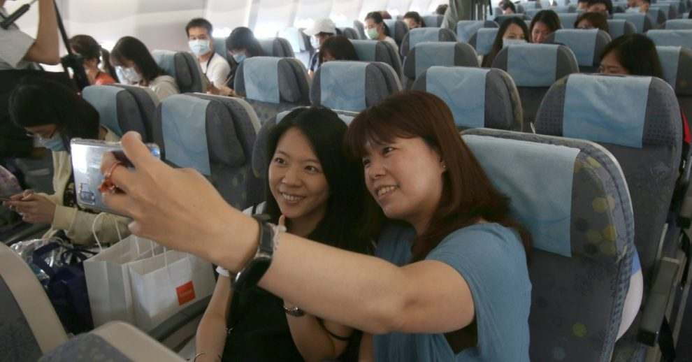 'Fantasy Flight' in Taiwan Offers Air Travel Experience Amid Coronavirus Lockdowns—Without Actually Leaving Airport