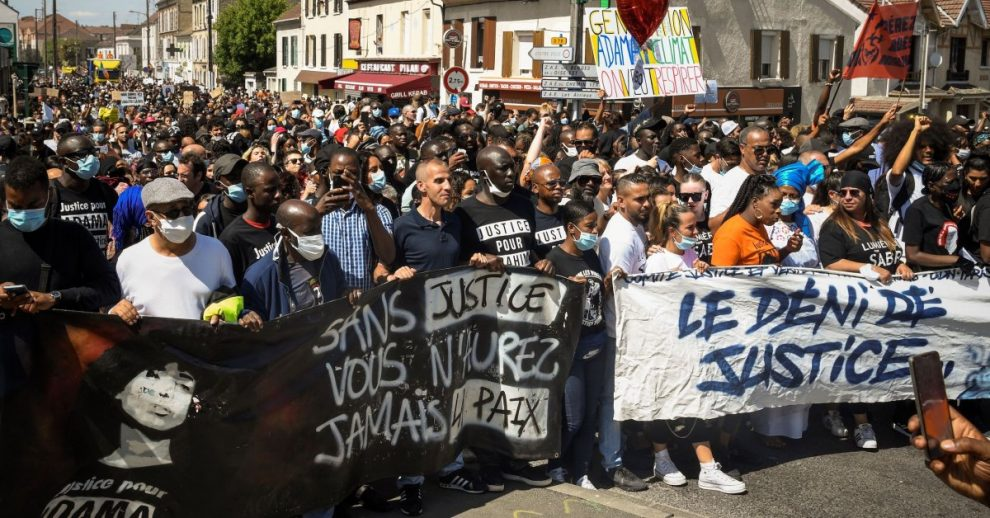 French Protesters March to Commemorate the Death of a Black Man in Police Custody, Renewing Calls for Justice