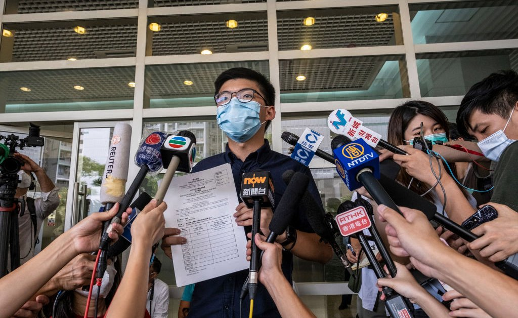 Hong Kong Disqualifies 12 Pro-Democracy Activists From Election