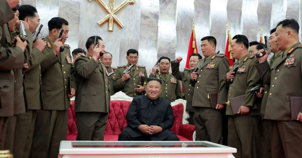 Kim Jong Un Says Nuclear Weapons Ensure North Korea's Security: 'There Won't Be Any War on This Land Again'
