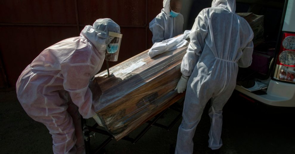 South Africa Sees Excess Deaths as COVID-19 Spreads 'Like Wildfire'