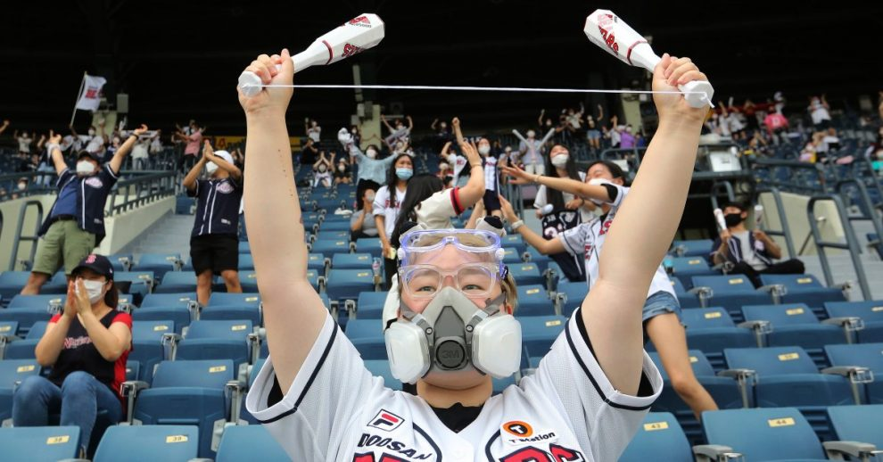 South Korea Allows Baseball Fans to Return to Stadiums