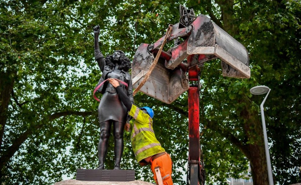 Statue of Black U.K. Protester Removed From Plinth in Bristol