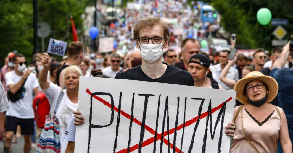 Tens of Thousands in Russia Challenge the Kremlin in Second Week of Protests