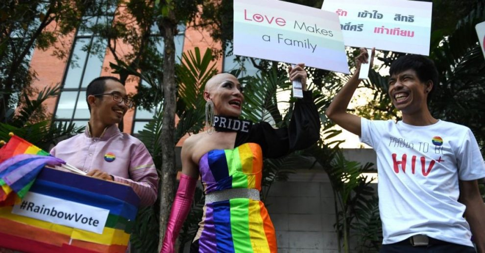Thai Cabinet Approves Bills Giving Same-Sex Unions Legal Status