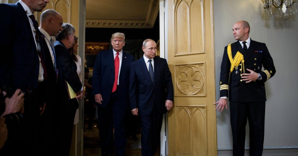 Trump Says He's 'Never Discussed' Reports of Taliban Bounties With Russian President Vladimir Putin