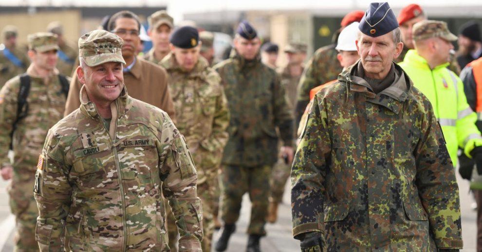 U.S. to Shift 12,000 Troops Out of Germany in Plan 'Accelerated' by Trump's Orders