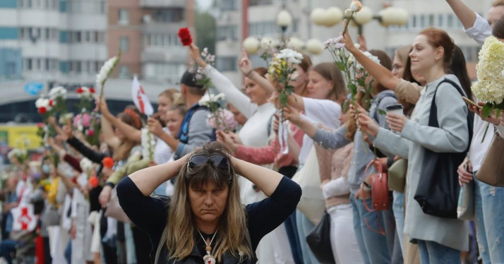 Belarus Authorities Block More Than 50 News Websites as Massive Protests Continue