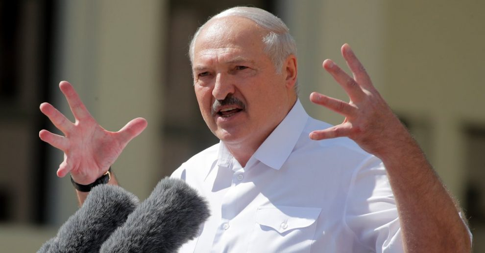 Belarusian President Alexander Lukashenko Rejects Possibility of Election Redo Amid Calls for Resignation