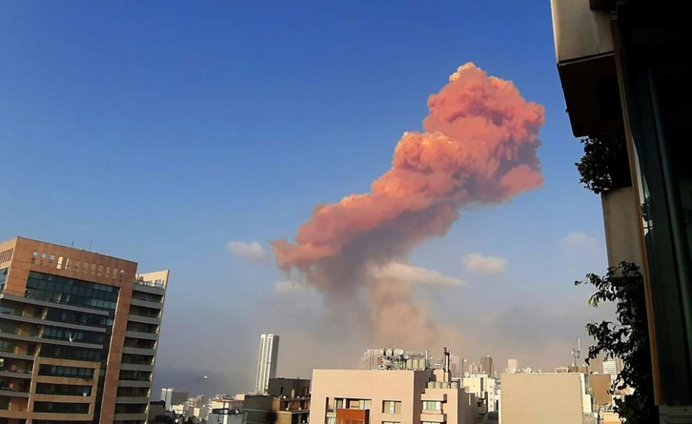 Massive Explosion in Beirut Triggers Widespread Destruction and Casualties