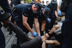 Polish LGBT Protesters March Against Arrest of Trans Activist and Rising Homophobia