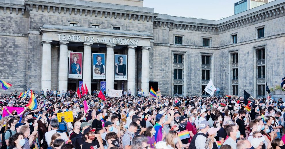 #PolishStonewall: LGBTQ Activists Are Rallying Together After Police Violence at Protests in Warsaw