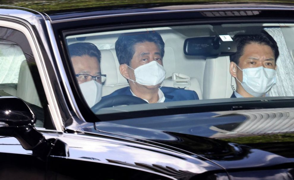 Shinzo Abe Returns to Hospital – as He Becomes Japan's Longest-Serving Leader Amid Concerns Over His Health