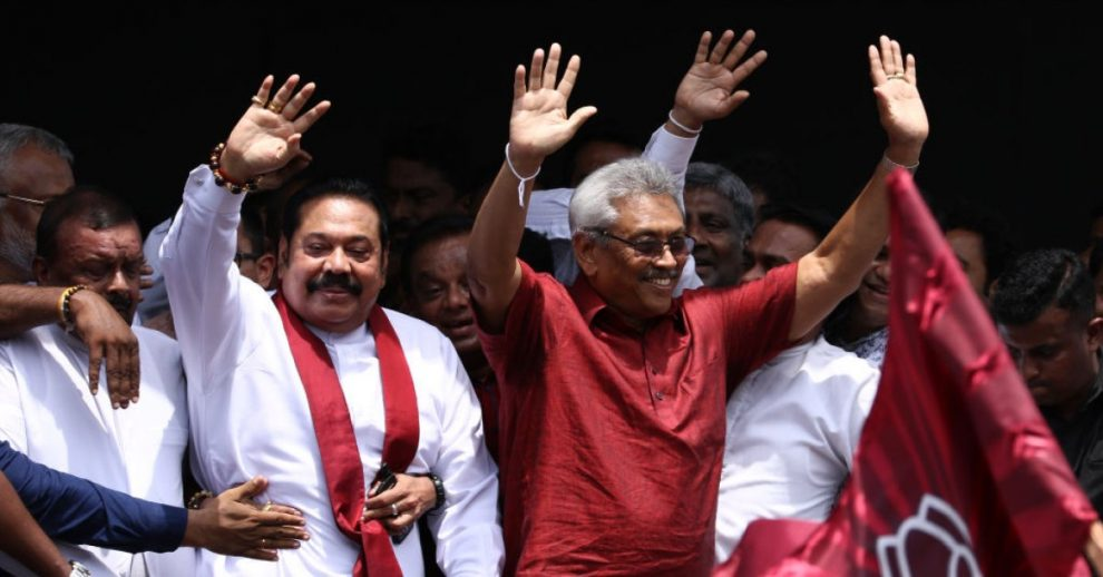 Sri Lanka's Rajapaksa Brothers Win by Landslide in Parliamentary Election