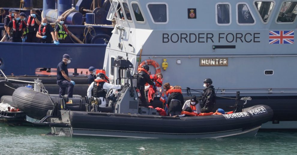 U.K. Military Asked to Help Stem Surge of Migrants Crossing the English Channel