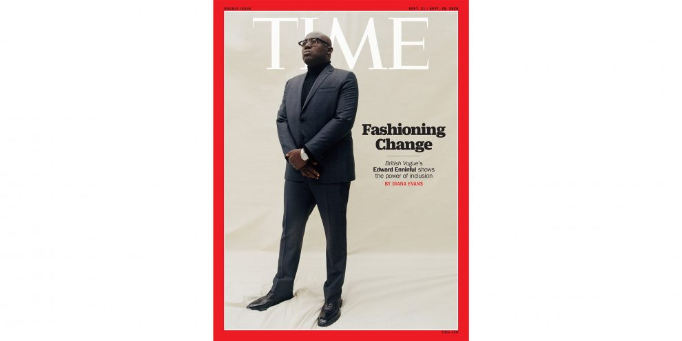 'This Is Not the Time for Tiptoeing.' How British Vogue's Edward Enninful Is Shaking Up the Fashion World