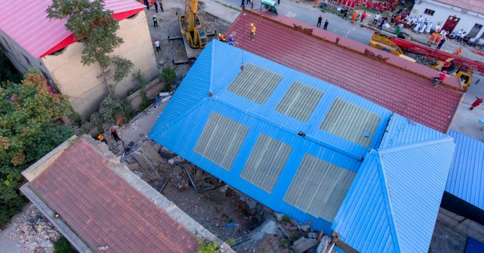 China Restaurant Collapses During Birthday Party, Killing 29 People