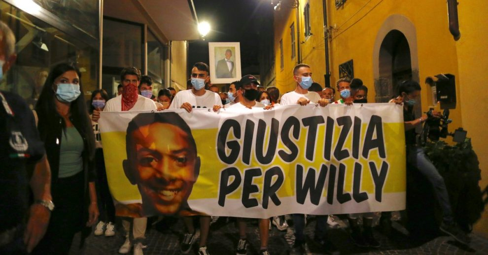 Hundreds Join Funeral Procession in Italy for Young Black Man Brutally Beaten to Death