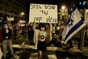 Thousands Protest Israel Prime Minister Benjamin Netanyahu in Jerusalem Despite COVID-19 Lockdown