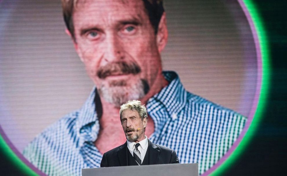 Cybersecurity Pioneer John McAfee Arrested in Spain on U.S. Tax Evasion Charges