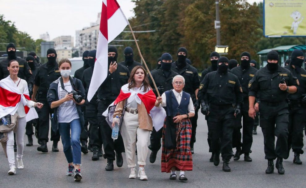 Meet the 73-Year-Old Great-Grandmother Defying the Dictatorship in Belarus