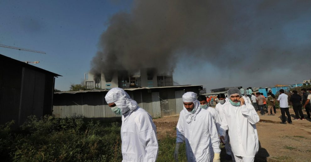5 Killed in Fire at World's Largest Vaccine Manufacturer