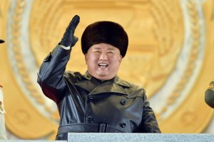 North Korea Holds a Huge Military Parade as Kim Vows to Expand His Nuclear Program