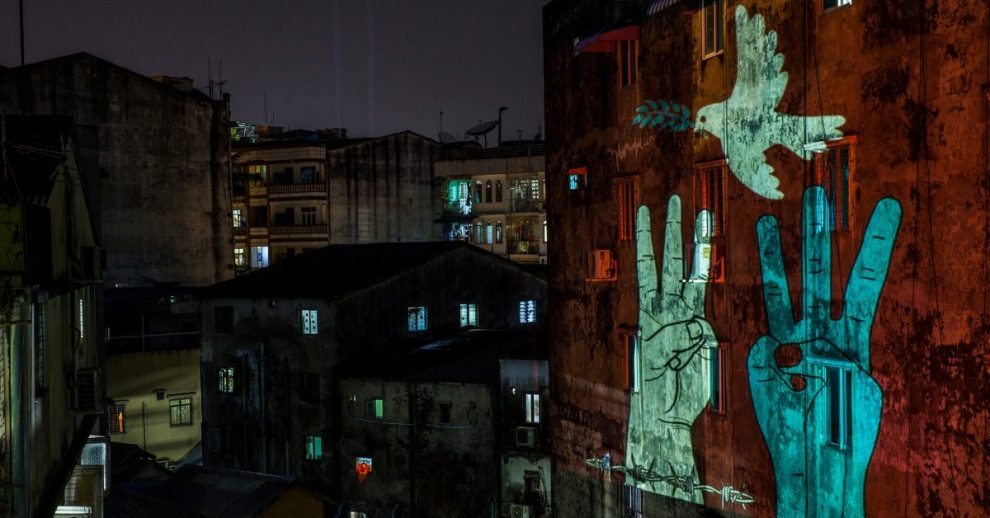 Myanmar's Creatives Are Fighting Military Rule With Art – Despite the Threat of a Draconian New Cyber-Security Law