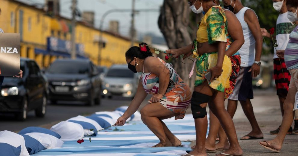 Brazil Becomes the Second Nation After the U.S. to Top 300,000 COVID-19 Deaths