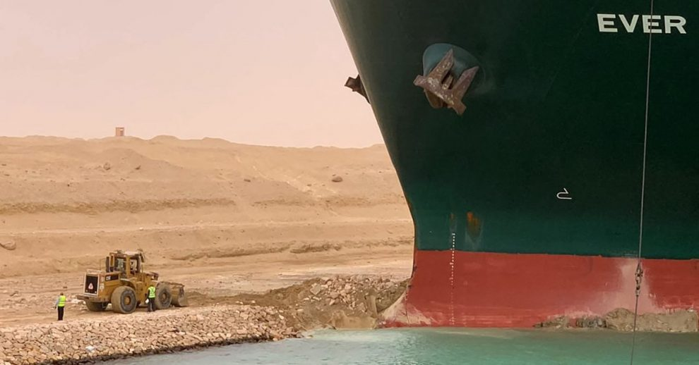 How That Massive Container Ship Stuck in the Suez Canal Is Already Costing the World Billions of Dollars