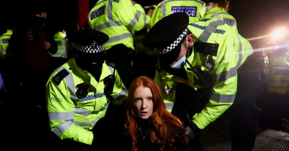 London Police's Treatment of Women at a Vigil Prompted Fury. Campaigners Say a Reckoning Is Overdue