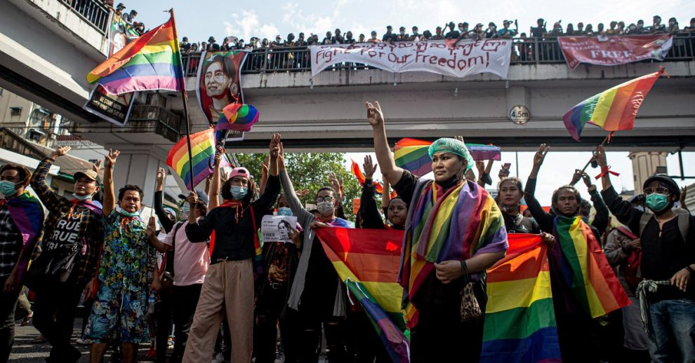 Myanmar's Pro-Democracy Protests Are Giving a Voice to LGBTQ+ People