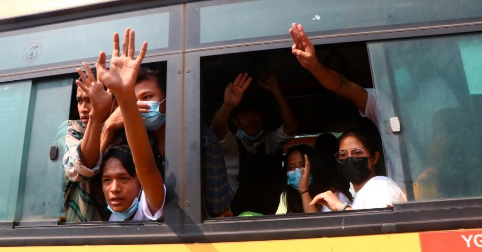 The Myanmar Junta Frees Hundreds of People Held Over Anti-Coup Protests
