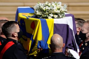 Prince Philip Is Laid to Rest as Queen Sits Alone to Set Example