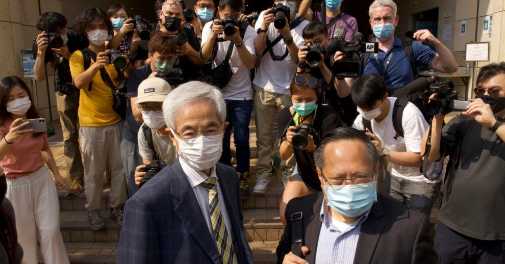 Seven Hong Kong Democracy Leaders Have Been Convicted Over the City's 2019 Protests