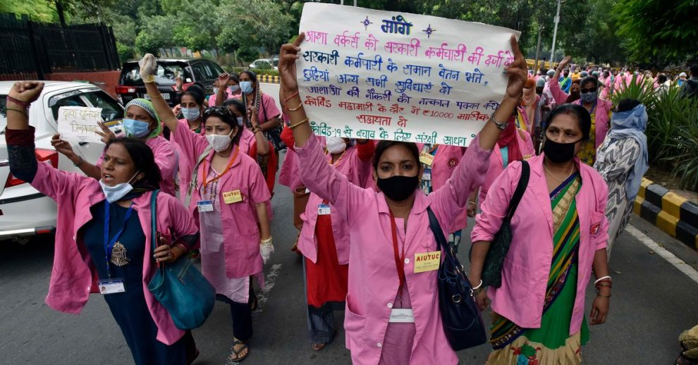 'Our Lives Don't Matter.' India's Female Community Health Workers Say the Government Is Failing to Protect Them From COVID-19