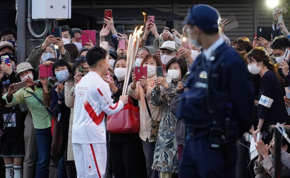 8 People Involved in Tokyo Olympic Torch Relay Infected With COVID-19