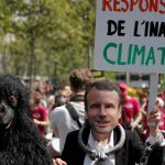 French Demonstrators Demand More Action on Climate Change