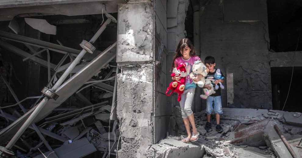 I've Tried to Keep My Kids Safe Through 3 Bombardments of Gaza. It's Never Been Like This Before