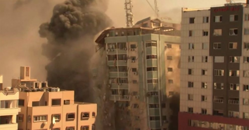 Israel Strike in Gaza Destroys Building That Housed AP and Other Media Outlets