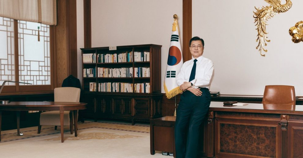 South Korean President Moon Jae-in Makes One Last Attempt to Heal His Homeland