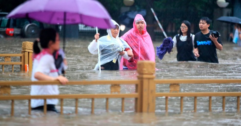 China Blasts Dam to Relieve Floodwaters That Killed 25 in Henan