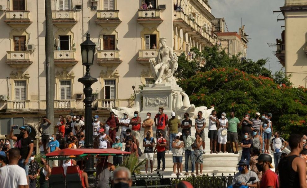 Cuban Protesters Rally Against Government Amid Economic Crisis